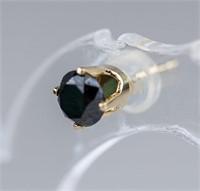 1.0ct Black Diamond Earrings CRV $900