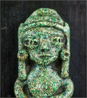 Mexican Stone Carved Figure Decoration