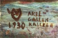 Finnish Symbolist OOB Akseli Gallen-Kallela