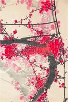 Cheng Shengda b.1938 Chinese Watercolor Scroll