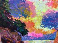 Alex Antanenka Russian b. 1951 Acrylic on Canvas