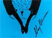 US Pop Art Ink Femlin Signed LeRoy Neiman