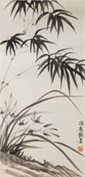 Ye Gongchuo 1881-1968 Chinese Ink on Paper Roll