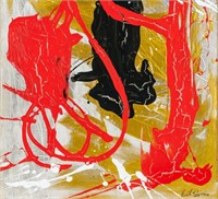 American Abstract OOC Signed Ruth Kligman