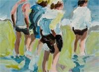 US Impressionist Oil/Paper Signed EDWARD POTTHAST