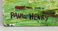 Irish Post Impressionist OOB Signed PAUL HENRY