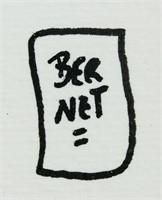 Spanish Pop Art Ink on Paper Jordi Bernet