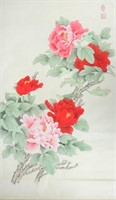 Chang Lu Chinese Watercolor on Paper