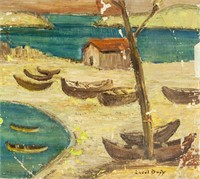 French Impressionist OOC Signed Raoul Dufy