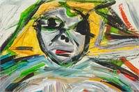 Dutch Abstract Oil Signed William de Kooning