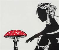 Norwegian Pop Art Mixed Media Signed DOLK