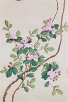 Yun Shouping 1633-1690 Chinese Watercolor Scroll