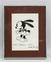 American Pop Art Ink on Paper Signed Walter Lantz