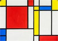 Dutch Expressionist Oil Signed Piet Mondrian