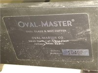 Oval Master Industrial Mat Cutter & Cover