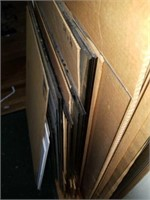 Lot of Various Size Glass Pieces for Framing