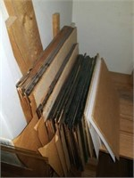 Large lot of Assorted sizes of glass