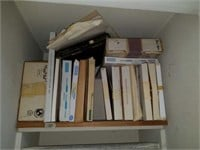 Lot of Sample Boxes of Matboards from Bainbridge