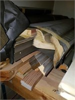 Lot of Misc Wood Moulding for Framing