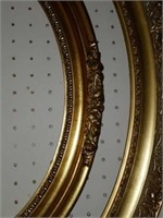 Lot of Misc Gold Gilded Style Frames & More