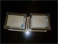 Lot of 3 Flag Cases & 2 Acrylic Baseball Cases