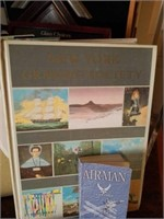 Large Lot of Display Materials-Books, Stands, Etc