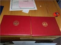 Lot of diploma portfolio various colleges