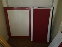 Picture frame, assorted cardboard framing pieces