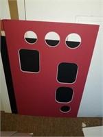 Cardboard matting for framing