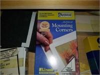 Drawer full of framing supplies