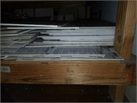 Lot of Thick White Matting For Framing