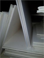 Lot of Thick White Matting for Framing.