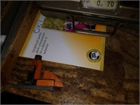 Lot of Misc Office Supplies, Moulding, Scales, Etc