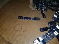 Lot of frame hangers, corner braces,