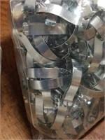 Box full of Bags of Metal Framing Supplies
