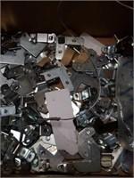 Box of Metal Picture Hanger Mounts