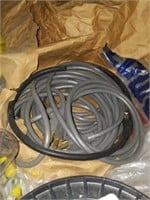 Lot of Rolls of Metal Braided Picture Wire & More