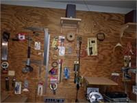 Wall of tools, sealector II tracking iron