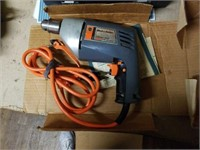 "Black & Decker Commercial Duty 3/8"" VSR Drill"