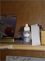 Shelf lot of Framing Supplies