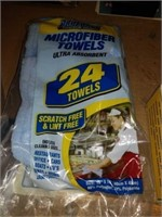 Lot of pro force microfiber towels and rags