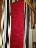 Lot of mixture framing boards assorted colors