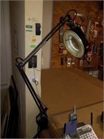 Adjustable Magnified Table Project Shop Light