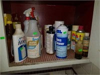 Entire Contents of Spray, Cleaner, and Etc