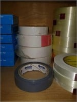 Entire Contents of Shelf - Misc Style Tapes