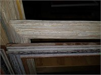 Lot of 6 Beautiful Barn Wood Style Frames