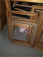 Lot of 10 Gold Gilded Style Frames