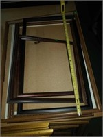 Estate lot of 6 picture frames.