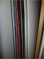 Lot of approx 22 picture frame backing