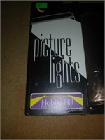 """Hobby Hill Picture Lights 7"""" bronze"""
